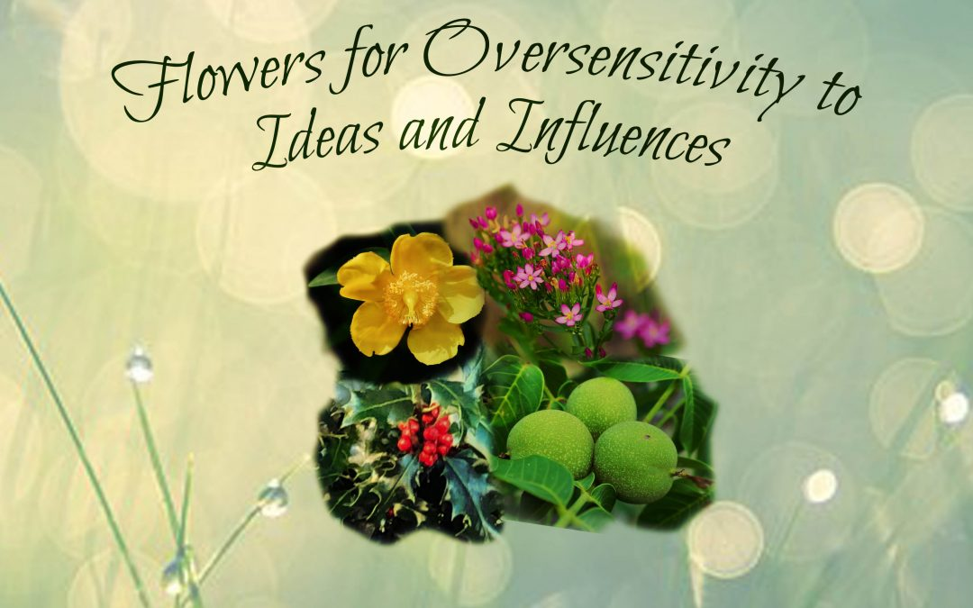 Remedies for Oversensitivity to Ideas and Influences